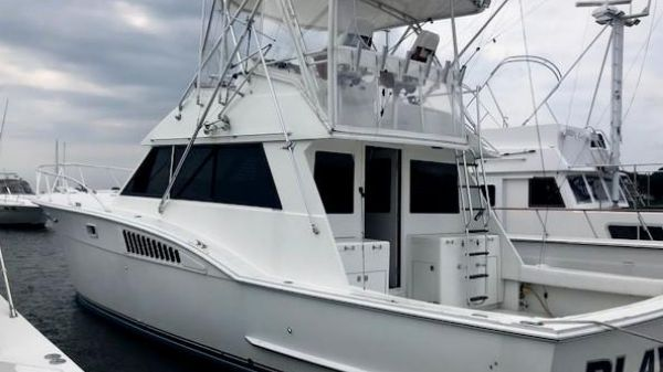 Hatteras 45 Customized by Slane Marine