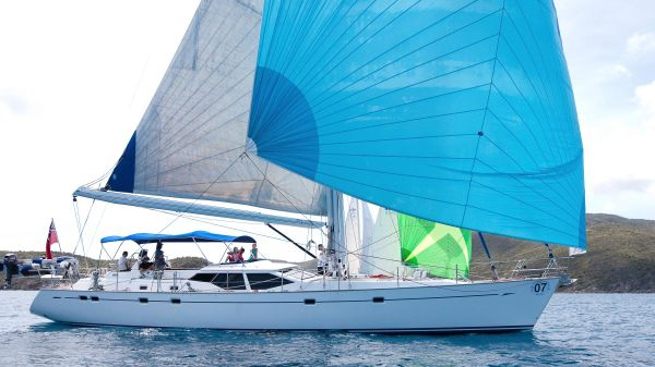 Oyster 66 Downwind