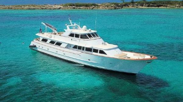 Broward Motor Yacht 110 Pilothouse