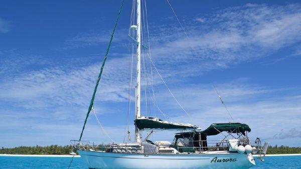 Morgan 38.2 Morgan 38.2- at anchor