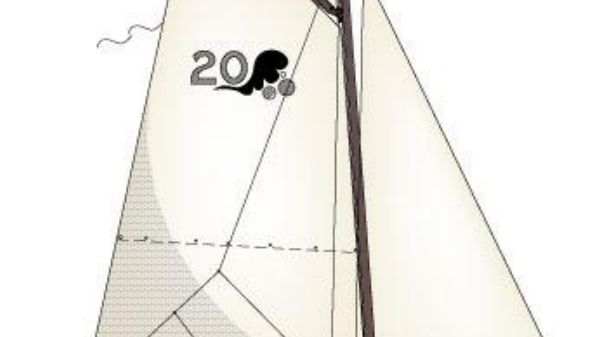 Custom Bob Perry 20 Sail Plan