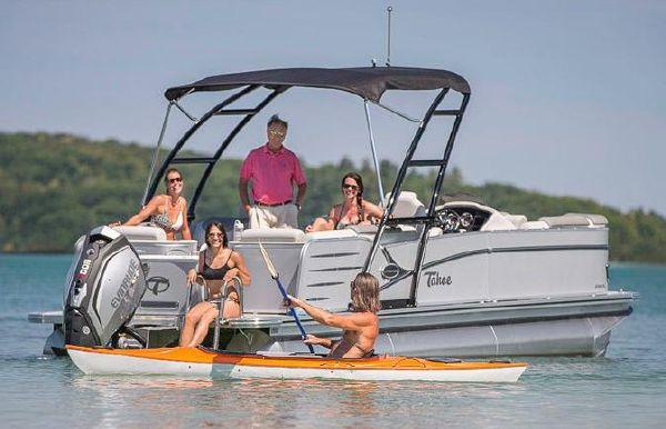 2017 Tahoe Pontoon Cascade Quad Lounger - 27'