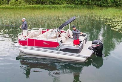 2017 Tahoe Pontoon LTZ Quad Fish - 20'