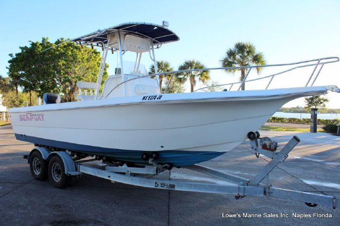 2002 Sea Fox 237 Center Console Lowes Marine Sales In