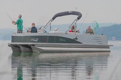 2018 Tahoe Pontoon Cascade Quad Fish - 25'