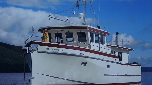 Custom Pilothouse Trawler