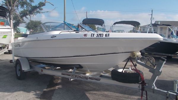 2005 SEA FOX 186 DC FISH & SKI