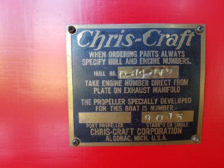 Chris-Craft 19 Red & White image
