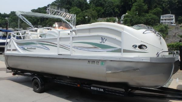 Used JC Suntoon 2 Power Boats For Sale - Tomes Landing