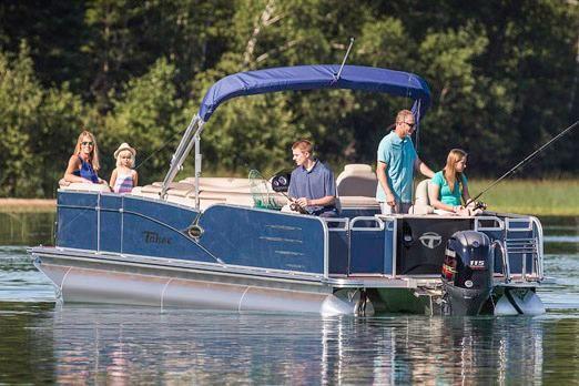 2019 Tahoe Pontoon Cascade Rear Fish - 23'