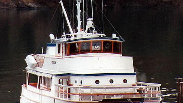 Wheeler Sub Patrol Pilothouse LRC Conversion Dockside Exterior - Forward Quarter