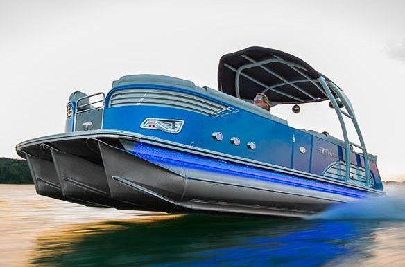 2017 Tahoe Pontoon Vision Cruise - 27'