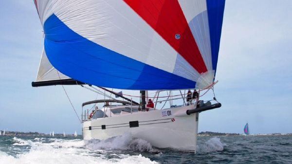 Southerly 57 RS Southerly 57 Tristan B under spinnaker