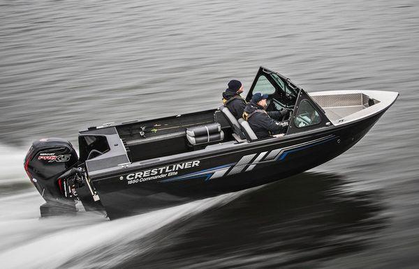 2018 Crestliner 1850 Commander Elite