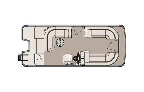 2017 Tahoe Pontoon LTZ Cruise - 22'