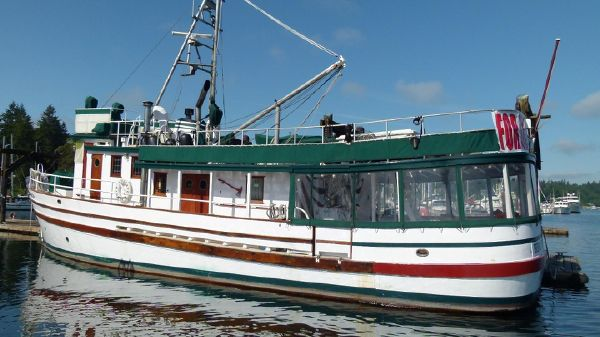 Classic Ex-BC Forest Service Boat