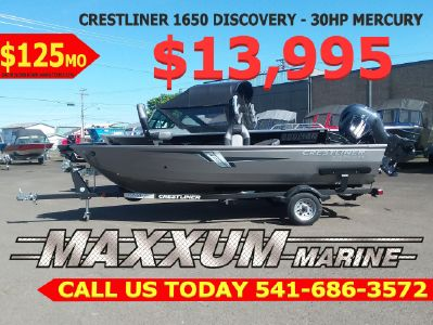 2019 Crestliner<span>1650 Discovery</span>
