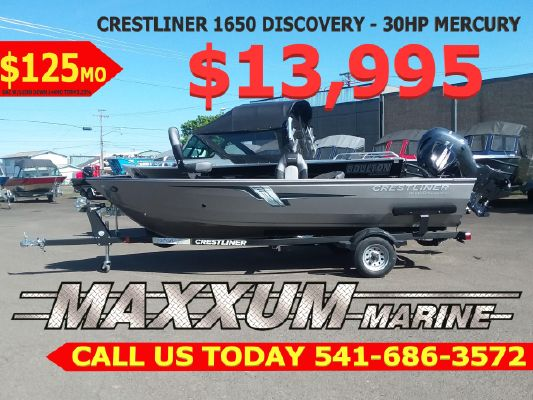 Crestliner 1650 Discovery - main image