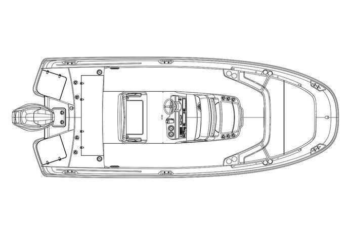 2019 Boston Whaler 210 Dauntless Williams Bay, Wisconsin