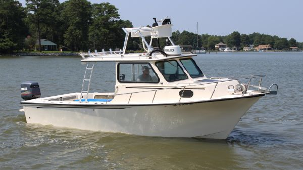 May-Craft 2550 Pilothouse Cabin