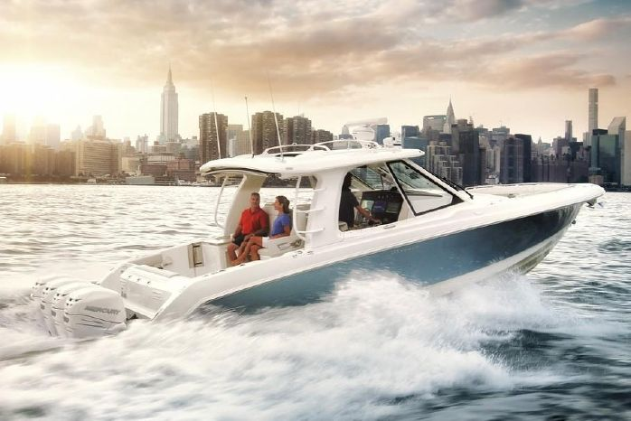 2019 Boston Whaler 380 Realm - Outboard Motor Shop