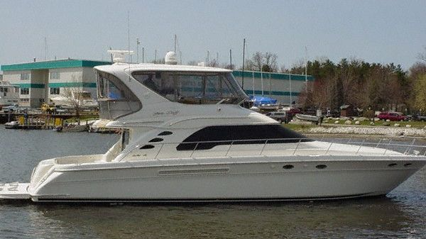 Sea Ray 560 Sedan Bridge - 150 HOURS with WARRANTIES!