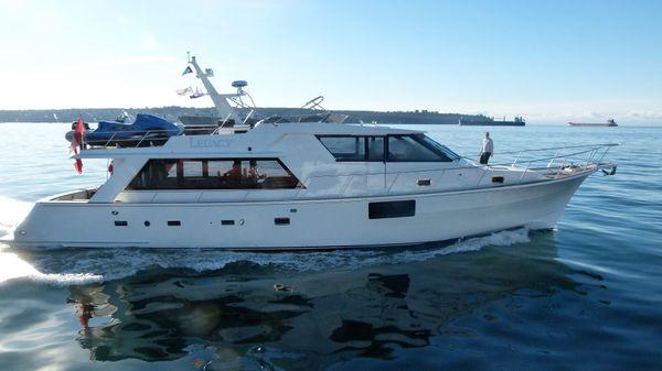 McQueen Pilot House Motor Yacht Profile