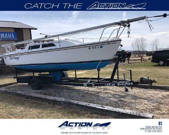 1988 Catalina 22 Burlington, Wisconsin - Action Marine Inc