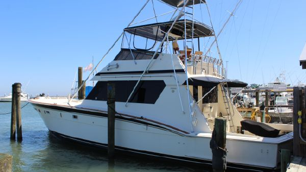 Hatteras Convertible Mann Power