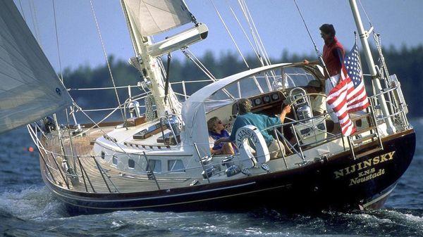 Hinckley Sou'wester 52 Sloop Nijinsky sailing