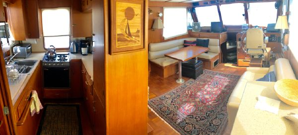 DeFever 44 Trawler Sundeck image