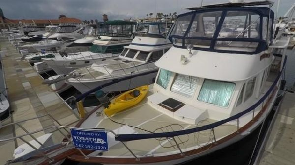 DeFever 44 Trawler Sundeck