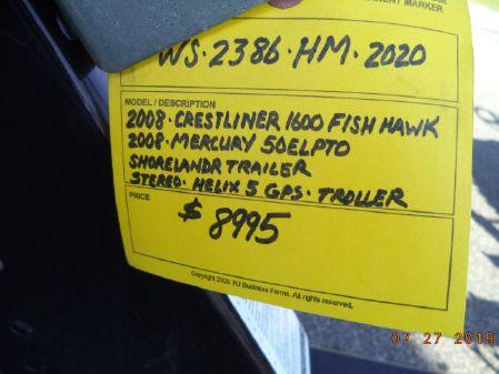Crestliner 1600 FISH HAWK SC image
