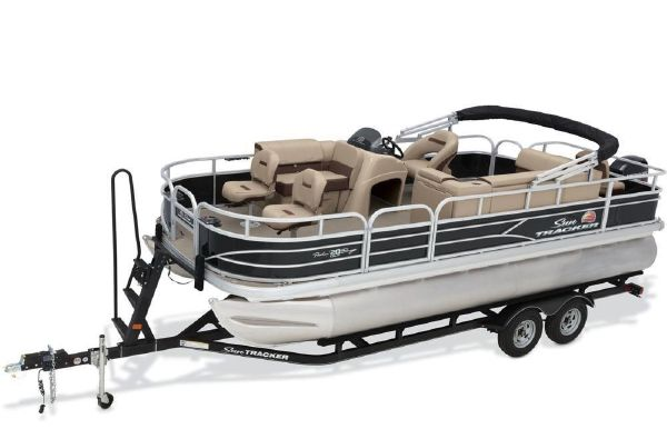 2018 Sun Tracker Fishin' Barge 20 DLX