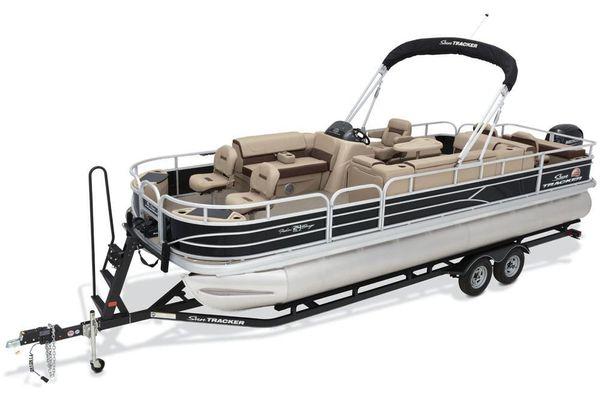 Sun Tracker Fishin' Barge 24 DLX - main image