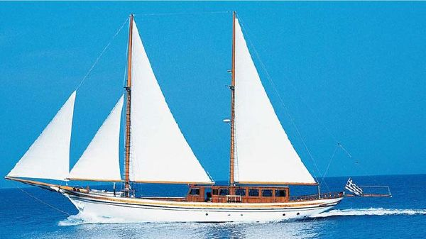 Custom Greek Schooner