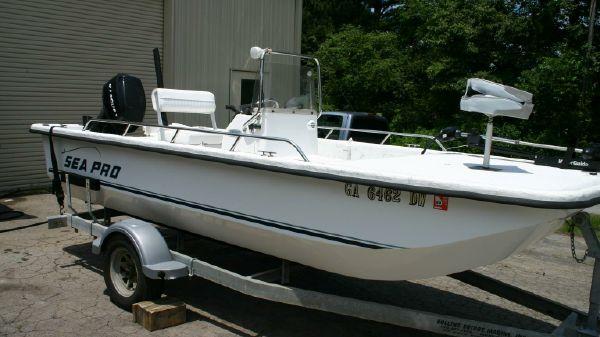 Sea Pro 1680 Skiff