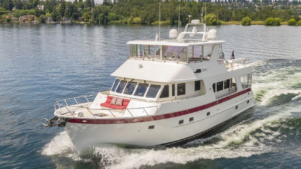 Outer Reef 650 Motor Yacht