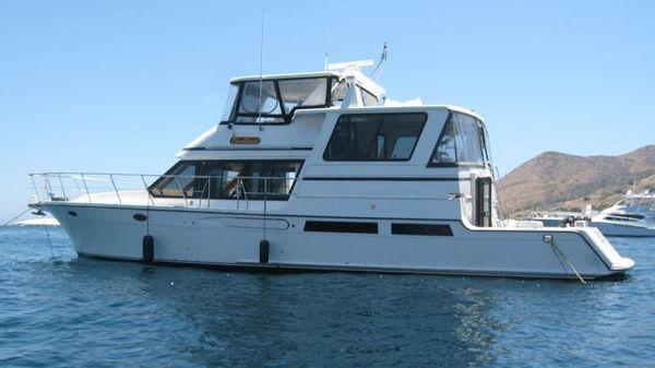 Del Rey Cockpit Motoryacht