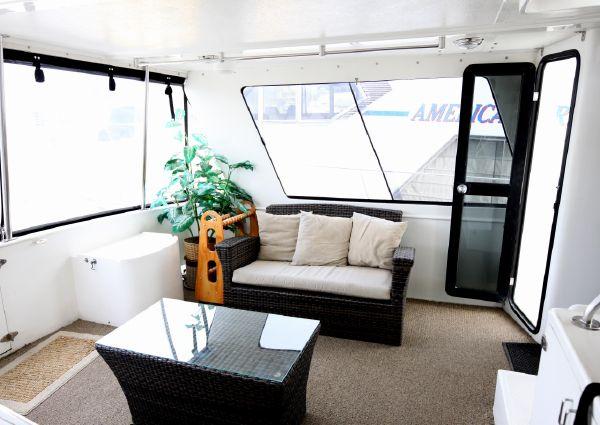 Del Rey Cockpit Motoryacht image