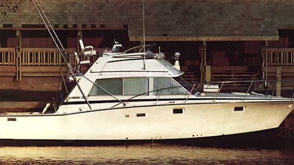 Bertram 38III Convertible Manufacturer Provided Image