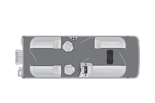 Bennington SV 24 Quad Bench image
