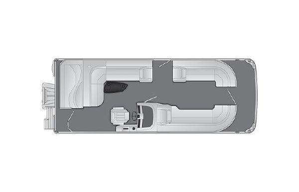 2021 Bennington LX 24 L-Bench