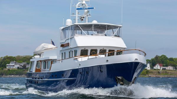 Palmer Johnson Expedition Yacht