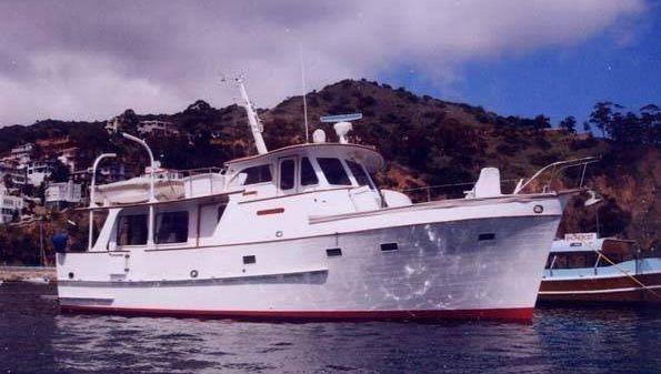 Grand Banks Alaskan Trawler