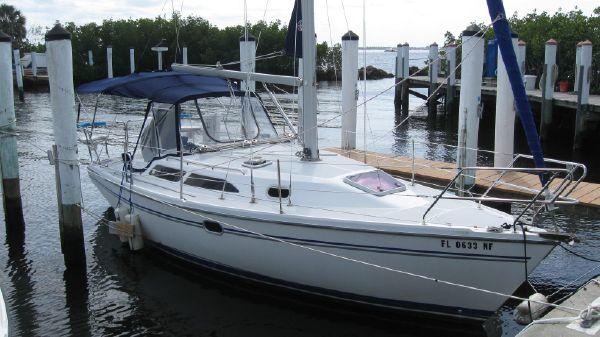 Catalina Sloop MK II Easy Street @ the Yacht Club