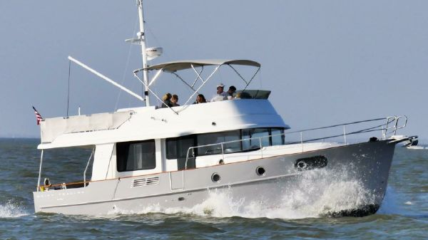 Beneteau 44 Swift Trawler Starboard Running Profile
