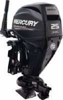 2017 Mercury 25 hp Jet FourStroke
