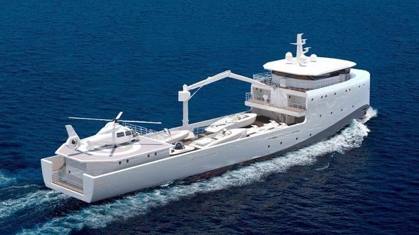RMK Marine Yacht Support Vessel 62
