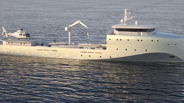 Dorries Yachts Yacht Support Vessel 62
